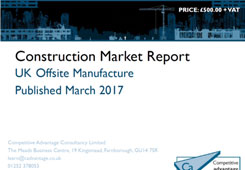 UK Offsite Manufacture: the challenges and opportunities for construction markets image