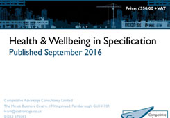 Designing for Health & Wellbeing: New research explores opportunity in specification image