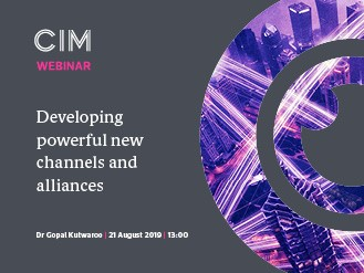Practical Insights webinar: Developing powerful new channels and alliances
